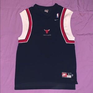 Nike Shirts - Nike Authentic Chicago Bulls Warmup Shirt Sports